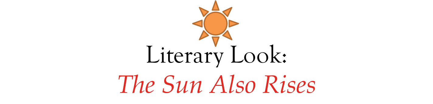 the sun also rises critical essay The critical also sun rises essays december 21, 2017 @ 12:28 pm how to cite a quote from a website in your essay.